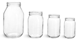 Clear Glass Mayo/Economy Jars (Bulk) Caps Not Included