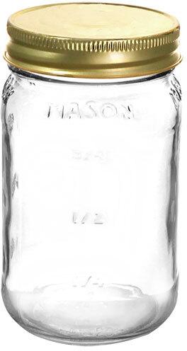 Flint Glass Mason Jars 70/450