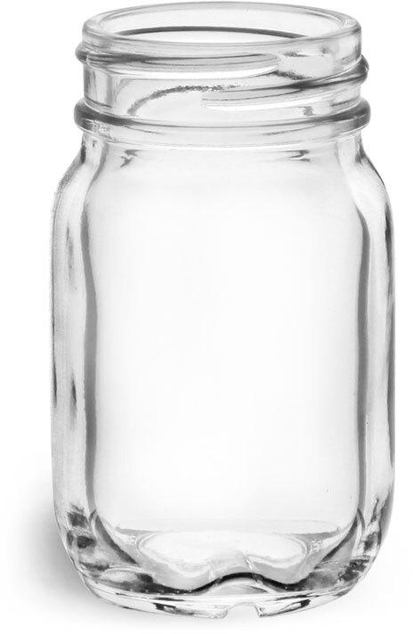 Glass Jars, Clear Glass Mayberry Jars