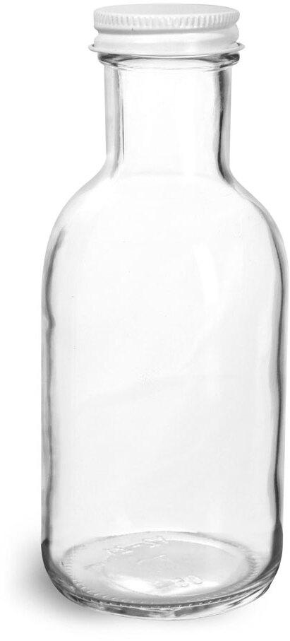 White Metal Plastisol Caps