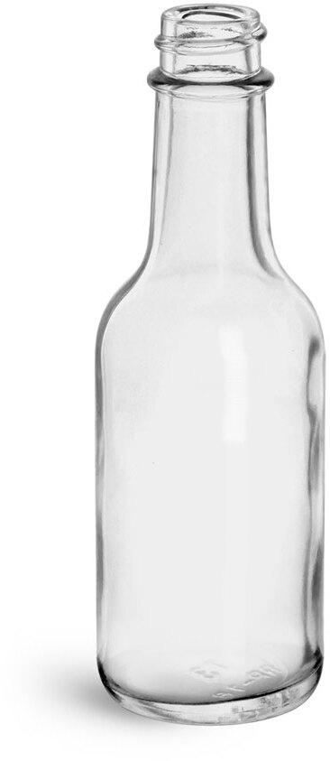 Clear Glass Woozy Bottles (Bulk)