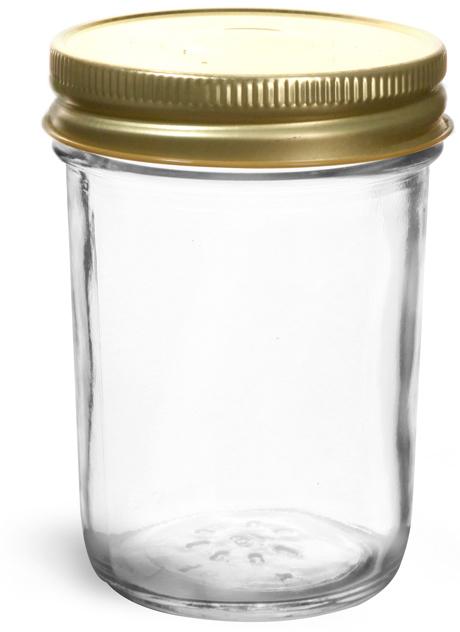 Gold Metal Plastisol Caps