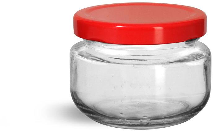 Red Metal Plastisol Lug Caps