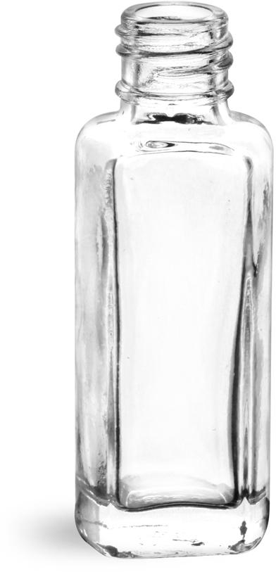 Clear Glass Sample Bottles (Bulk), Caps NOT Included