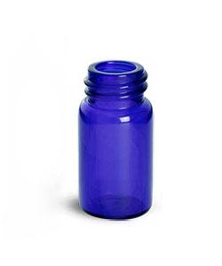 Blue Glass Vials (Bulk) Caps Not Included