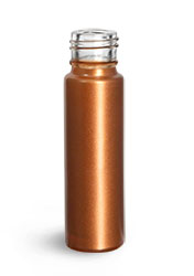 Glass Bottles, Bronze Glass Roll On Containers (Bulk) Caps NOT Included
