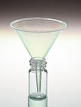 Plastic Funnels, Mini Plastic Funnels