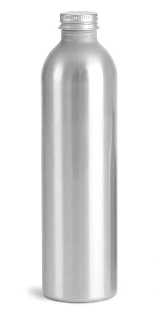 250 ml Aluminum Bottles w/ Lined Aluminum Caps