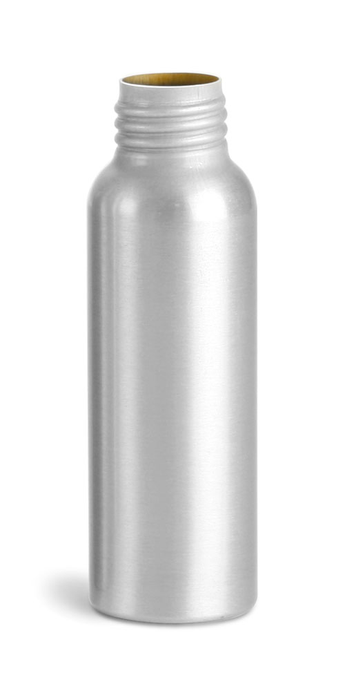 80 ml Aluminum Bottles, Bulk (Caps Not Included)