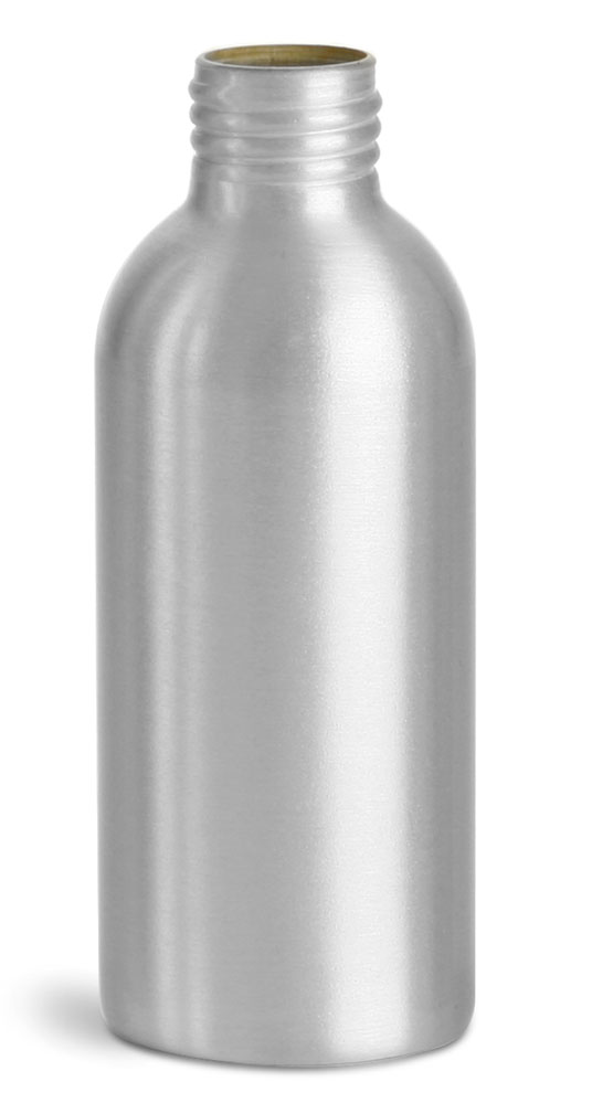 120 ml Aluminum Bottles (Bulk), Caps NOT Included
