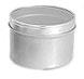 16 oz16 oz Metal Tins w/ Clear View Tops