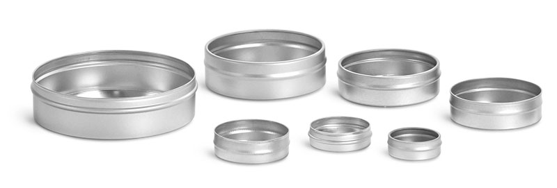 Flat Metal Tins (Bulk, No Tops)