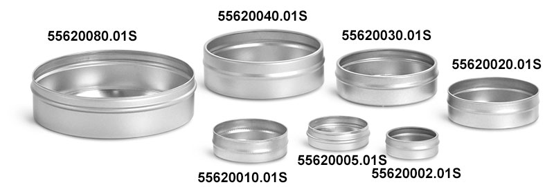 Flat Metal Tin Bottoms (Bulk, No Tops)
