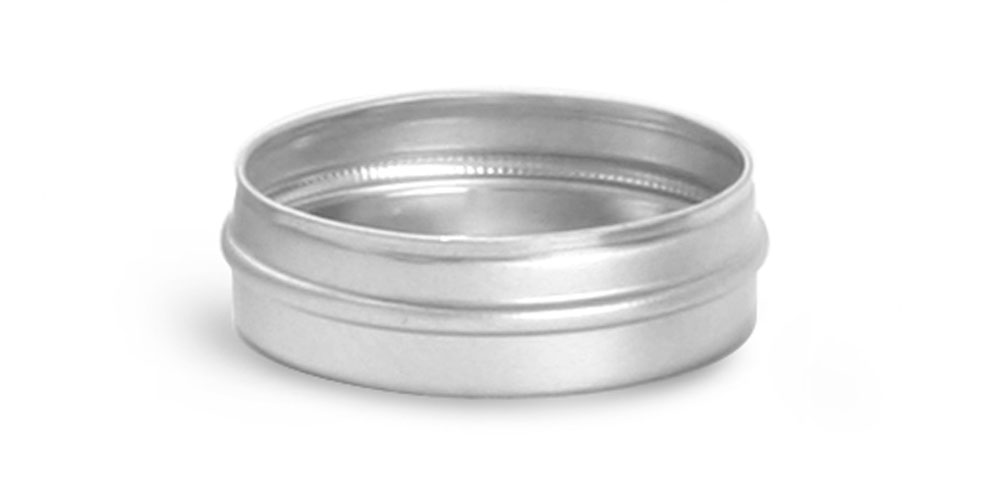 1/2 oz Flat Metal Tins (Bulk, No Tops)