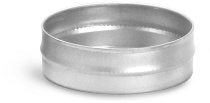 Flat Metal Tins (Bulk, No Tops)