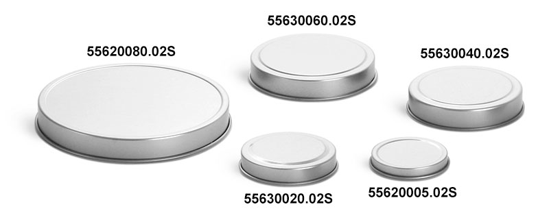 Deep Metal Tin Covers (Bulk, No Tins)