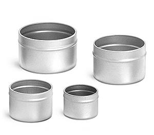 Deep Metal Tin Bottoms (Bulk, No Tops)