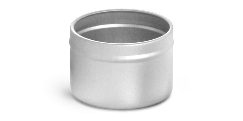 Deep Metal Tin Bottoms (Bulk, No Covers)