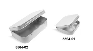 Metal Tins, Metal Hinge Top Tins