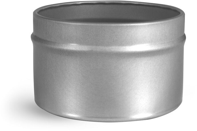 Footed Candle Tins (Bulk, Tops NOT Included)