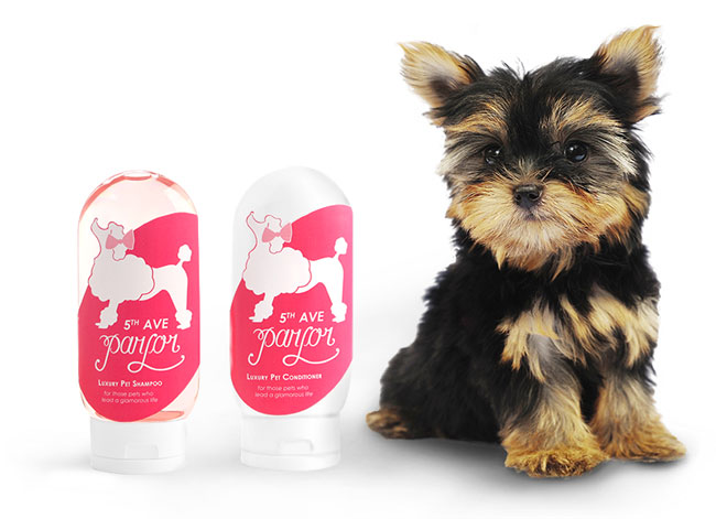 Dog Shampoo Bottles