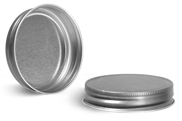 Metal Caps, Unlined Antique Pewter Metal Caps