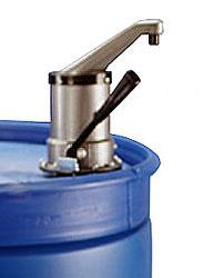 Drum Pumps, 10 oz Per Stroke Polypropylene Self Venting Drum Pumps