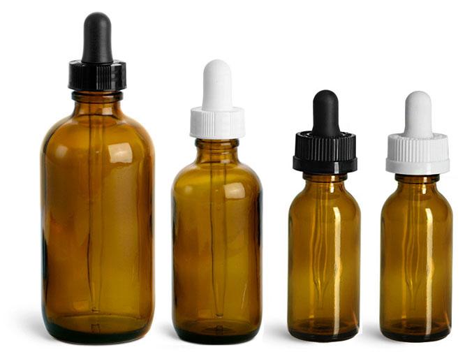 Amber Glass Pharmaceutical Packaging
