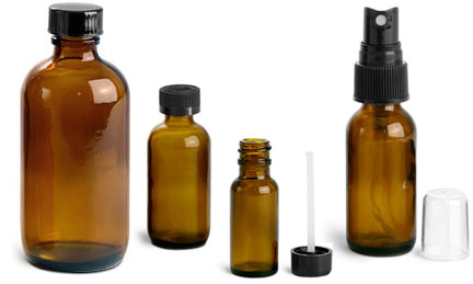 Amber Glass Pharmaceutical Packaging