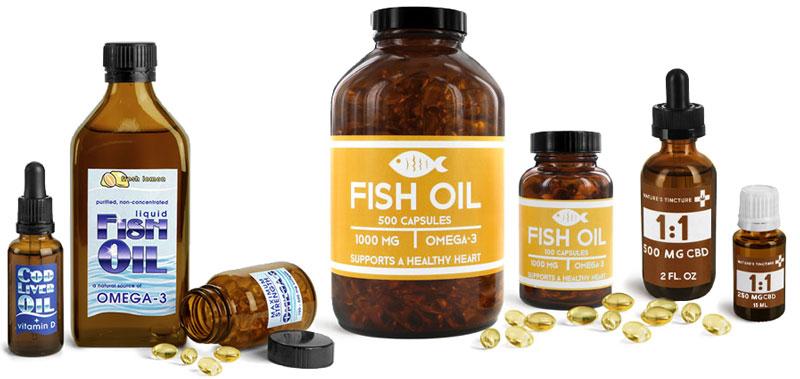 Product Spotlight - Amber Glass Bottles & Jars