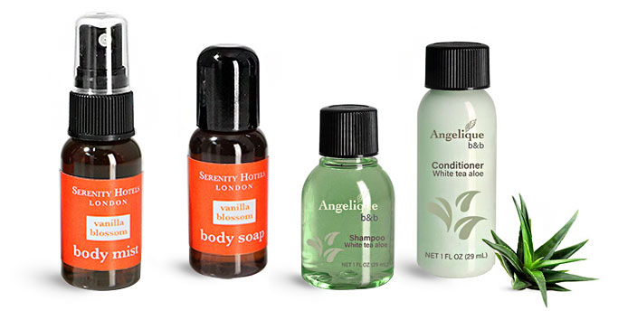 Product Spotlight - Toiletry Amenity Bottles