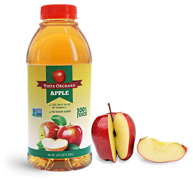 Plastic Apple Juice Bottles