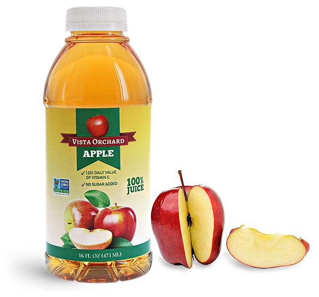 Plastic Apple Juice Bottles