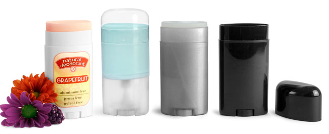 Oval Deodorant Tubes