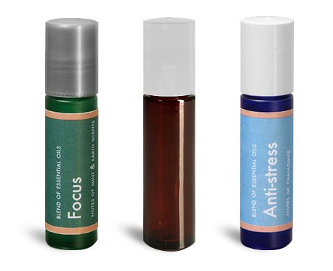 UV Resistant Essential Oil Roll On Containers