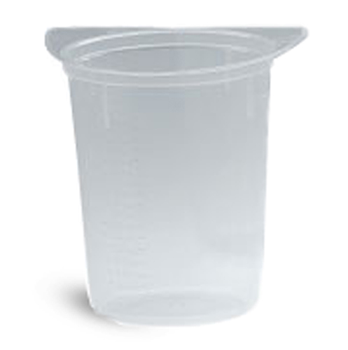 Plastic Beakers, Disposable Tricorn Plastic Beakers