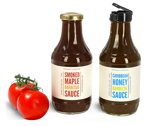 Barbecue Sauce Bottles