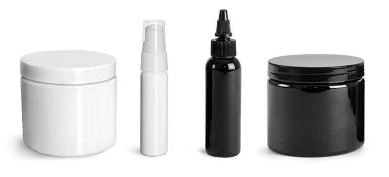 White & Black Bottles