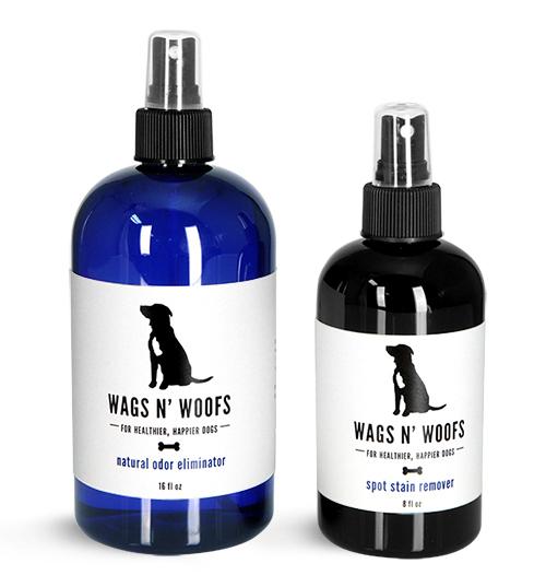 Pet Stain Remover Bottles