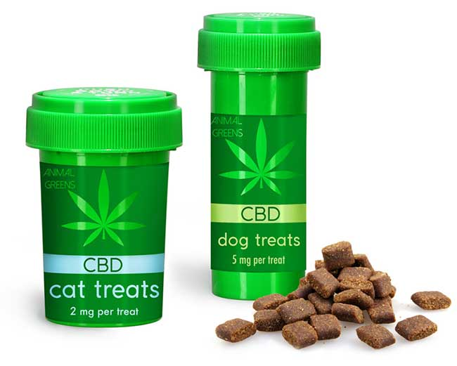 CBD Animal Treat Child Resistant Vials