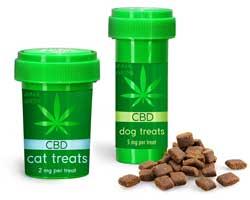 CBD Animal Treat Child Resistant Vials