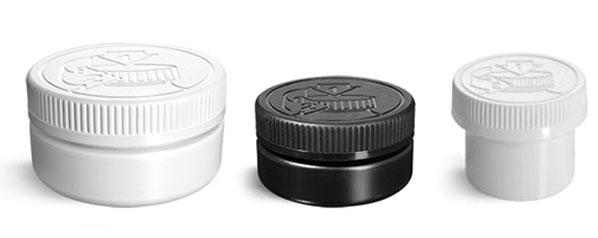 Child Resistant Low Profile Jars