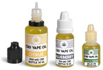 Plastic Hemp Oil Vape Liquid Bottles