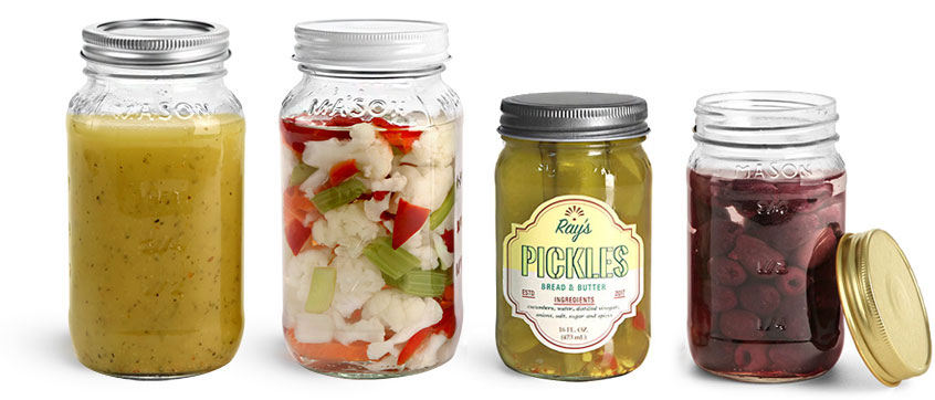 Product Spotlight - Clear Glass Mason Jars
