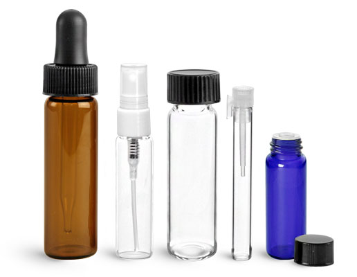 Product Spotlight - Clear & Colored Glass Vials