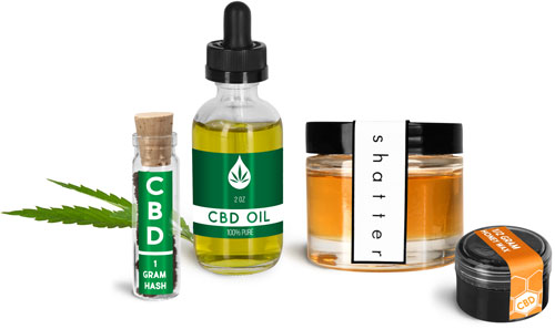 CBD Packaging, Containers For Hemp and CBD Products