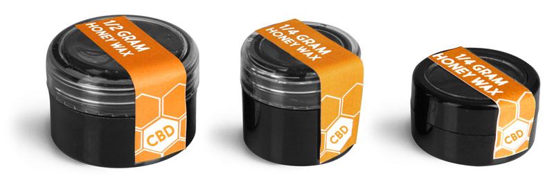 Black Concentrate Jars