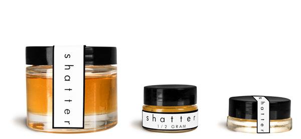 Glass CBD Concentrate Jars