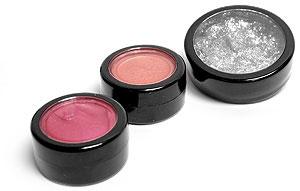 Black Cosmetic Jars