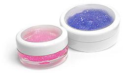 White Cosmetic Jars